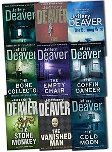 The Lincoln Rhyme Novels by Jeffrey Deaver  - Finished the Bone Collector and almost finished with book 2, the Coffin Dancer.