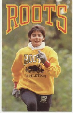 The official launch of our Roots Beaver Athletics collection in 1985 #vintageroots