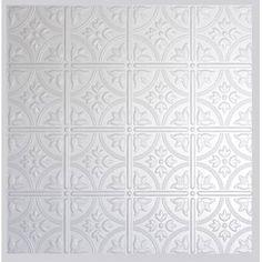 CeilingMAX 0.08 ft. x 8 ft. Ceiling Grid Kit PVC Ceiling Tile & Reviews | Wayfair Plastic Ceiling Tiles, Drop Ceiling Tiles, Ceiling Grid, Dropped Ceiling, Ceiling Panels, Behr Colors, Tongue And Groove Ceiling, Tin Ceilings, Popcorn Ceiling