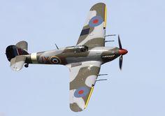 Hawker Hurricane Mk IIc with 20 mm (.79 in) Hispano Mk II cannons