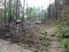What's left of the Wonderland Hotel - devastating fire