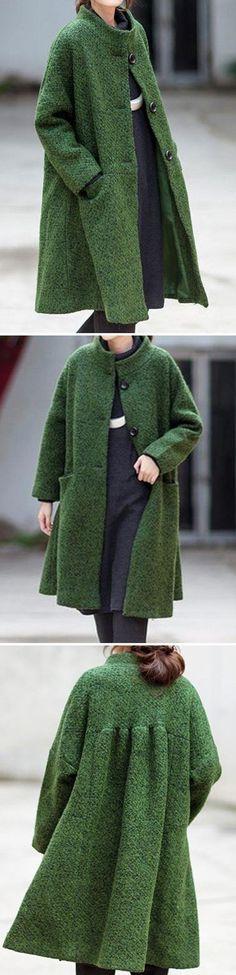 dark green coat, coats for women, oversized coat, christmas gifts