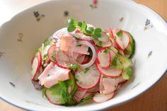 Radieschen - Gurken Salat 1