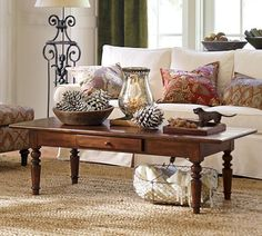 TIVOLI COFFEE TABLE - TUSCAN CHESTNUT STAIN  $399.00
