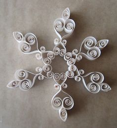 A quilled snowflake | Flickr - Photo Sharing!