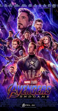 Avengers: Endgame - IMDb Directed by Anthony Russo, Joe Russo. With Brie Larson, Bradley Cooper, Scarlett Johansson, Chris Hemsworth. After the devastating events of Avengers: Infinity War Marvel Avengers, Captain Marvel, Avengers Film, Marvel Fan, Marvel Heroes, Captain America, Avengers Games, Poster Marvel, Marvel Movie Posters