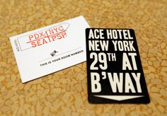 Ace Hotel has the best marketing collateral etc.