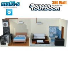 Split Ac, Bogor, Entryway, Furniture, Home Decor, Entrance, Decoration Home, Room Decor, Door Entry