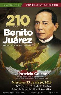 México a través de la cultura 210 Aniversario del Natalicio de Benito Juárez, el Benemérito de las Américas