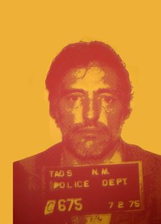Dennis Hopper by Rachel Schmeidler
