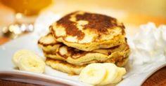 Prepara panqueques de manera sencilla, deliciosa y saludable sin utilizar harina, ni azúcar ni leche.