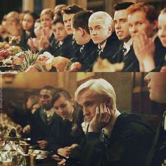 Top- 2nd movie- Chamber of Secrets- Bottom-6th movie- Half Blood Prince