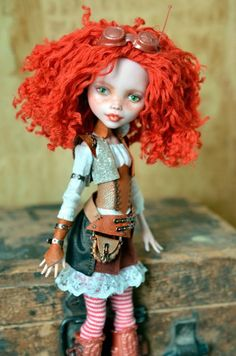 Мой первый ООАК Monster High / Куклы My Scene, Monster High, Монстер Хай от Mattel / Бэйбики. Куклы фото. Одежда для кукол