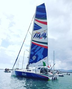 Black Sun Italia, Gaetano Mura skipper, record around the world sailing 2016 started in October