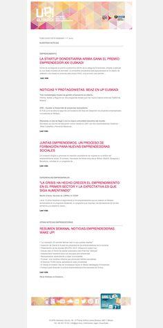 Noticias de Emprendimiento- UP Euskadi - (01-07 Junio 2015)  09/06/2015