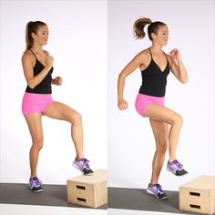 Adding a half turn to the jump squat is not only fun, but also it requires extra coordination and provides more core work. Start in a deep squat with your legs Bed Workout, Best Cardio Workout, Easy Workouts, At Home Workouts, Tummy Workout, Thigh Workouts, Monday Workout, Reduce Thigh Fat, Exercise To Reduce Thighs