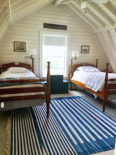 Nantucket house tour boy's bedroom