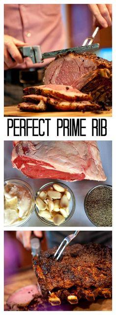 Crusted Pepper Prime Rib Recipe