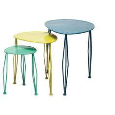 3 Piece Quinn Nesting Table Set