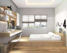 Small room design – Home Decor Interior Designs Small Bedroom Designs, Room Design Bedroom, Small Room Design, Small Room Bedroom, Home Room Design, Home Decor Bedroom, Modern Bedroom, Home Interior Design, Bed Room