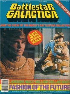 Battlestar Galactica Official Poster Magazine #2