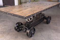 BBT Train Table 1900 from Vintage Industrial