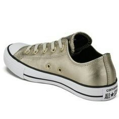 555a2e042262 Metallic converse rust gold metallic converse womens 6 I am a 6   they fit Converse  Shoes Sneakers