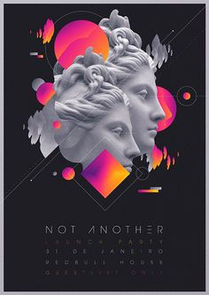 Not Another Launch Party Flyer Artwork on Behance                                                                                                                                                      More
