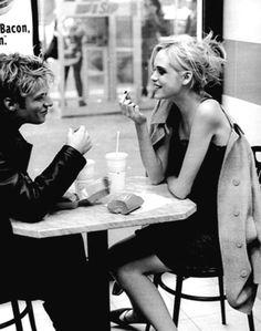 Café life.