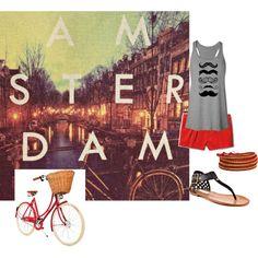 """Amsterdam"" by vaneros on Polyvore"