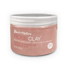 Rose Clay French Pink Kaolin 8OZ225 g *** See this great product.