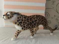 61.59$  Watch now - http://ali0mf.worldwells.pw/go.php?t=32383456789 - new creative simulation leopard toy polyethylene&furs leopard Furnishing articles gift about 53x20cm 61.59$