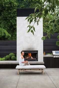 Most current Cost-Free modern Outdoor Fireplace Concepts It doesn't matter how very much you actually design the home inside; it's your exterior design and style which.