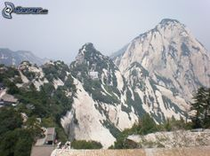 Monts Huang | Mount Huang , montagnes rocheuses