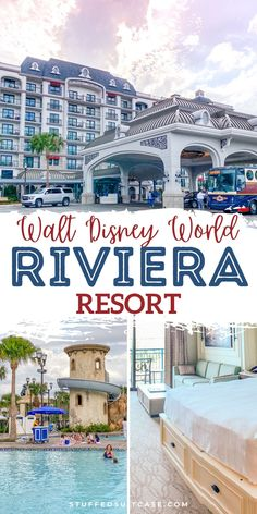 Disney Riviera Resort hotel guide and review - tips for the location, rooms, restaurants, cost, and transportation for this new deluxe Disney Vacation Club (DVC) hotel at Walt Disney World. Disney World Hotels, Disney World Florida, Walt Disney World Vacations, Disney World Resorts, Disney Trips, Hotels And Resorts, Hotel Disney, Disney College, Disney Nerd