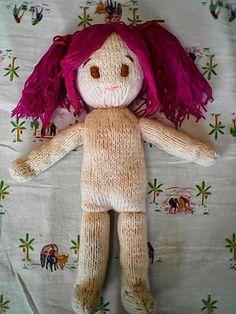 Free knitting pattern: Emiko doll | Holy's stuff