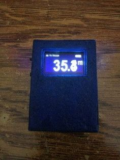 I made a really Tiny Altimeter from here that is working good. It consist of an arduino pro mini, ,the display ,a … Electronics Projects, Flip Clock, Arduino, Mini