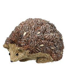 Love this Hedgehog Figurine on #zulily! #zulilyfinds