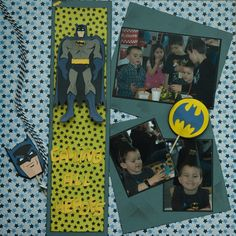 """the Batman Cricut Cartridge for the title """"Calling all Heros"""" and all the Batman images"""