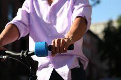 buzina de bicicleta que aceita upload de sons