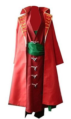Halloween Swordsman Zoro Cosplay Costume Outfits Set 2nd Red Version Customize -- Find out more about the great product at the image link.