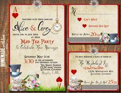 Alice in Wonderland Tea party Weddings