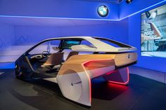 BMW has transformed its 5 Series Sedan into a futuristic vehicle that can drive and park itself, understand gestures and receive drone deliveries