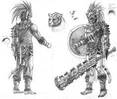 Resultado de imagen para guerrero jaguar