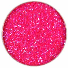 Edible hot pink glitter? Yes please.