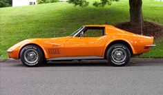 Corvette Stingray - sweet! And the preferred car of many a test pilot and astronaut to boot.