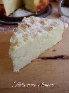Torta cocco e limone
