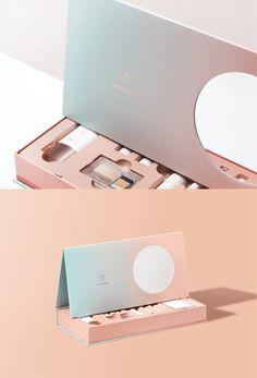 Cosmetic Kit on Behance gift packaging Cosmetic Kit Skincare Packaging, Cosmetic Packaging, Beauty Packaging, Box Packaging, Brand Packaging, Design Packaging, Coffee Packaging, Product Packaging, Cosmetic Kit