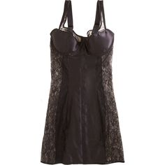 Fleur of England Iconic Contouring Babydoll (145 CAD) ❤ liked on Polyvore featuring intimates, dresses, lingerie, underwear, women, strappy lingerie, baby doll lingerie, underwire bras, fleur of england and babydoll lingerie