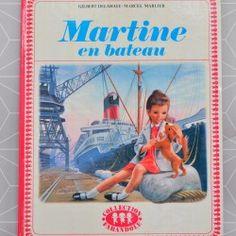 Martine en bateau   - Pauline et paulette la boutique vintage : www.paulineetpaulette.fr